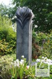 Stele mit Knospen-Ornament, Diabas